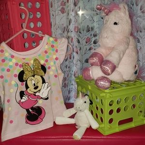 NWOT 3T Minnie Mouse 2pc. Outfit
